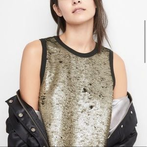 Gap Reversible Sequin Tank